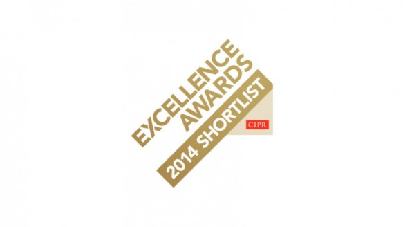 Finalist, Chartered Institute of Public Relations Excellence Awards 2014