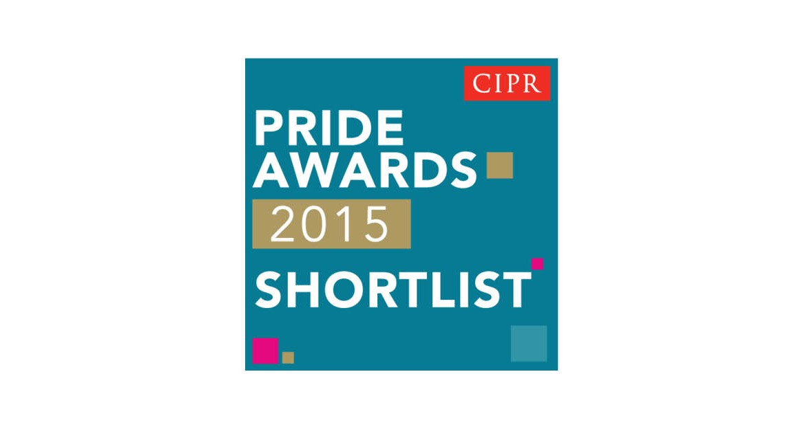 Shortlisted, Chartered Institute of Public Relations Excellence Awards 2015