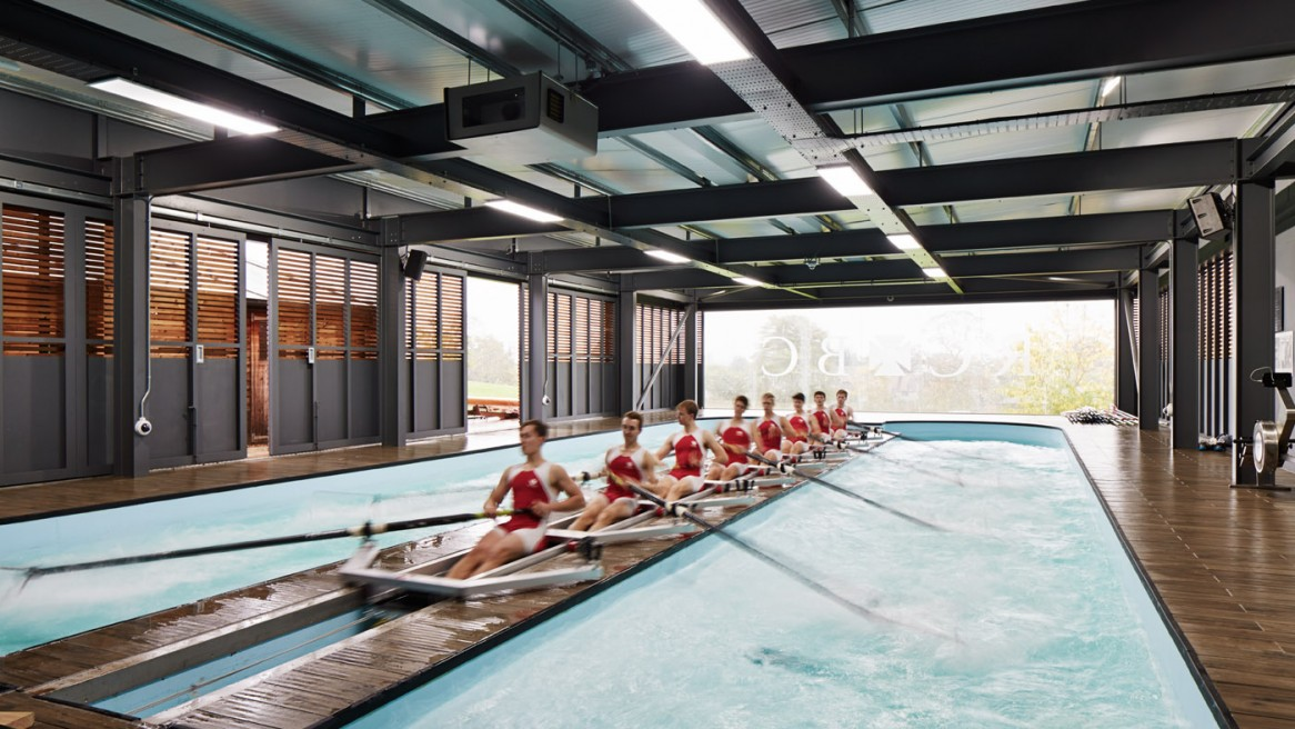 Radley College Rowing Centre by Mulroy Architects