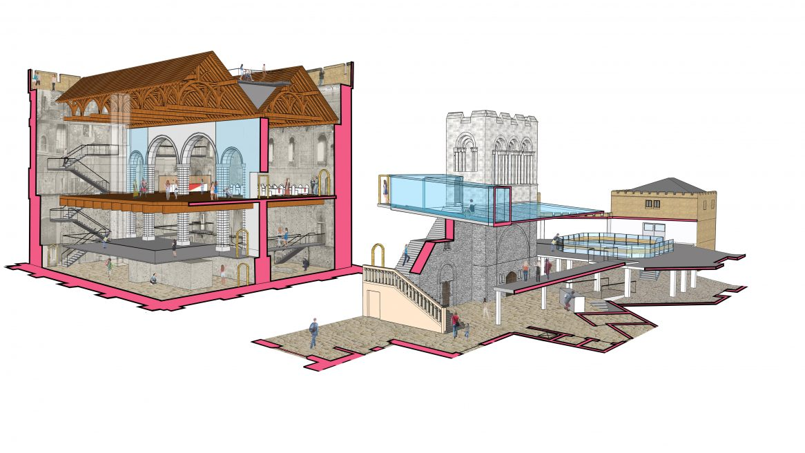 Hudson Architects and Martin Ashley Architects' Norwich Castle proposals secure Heritage Lottery Fund support