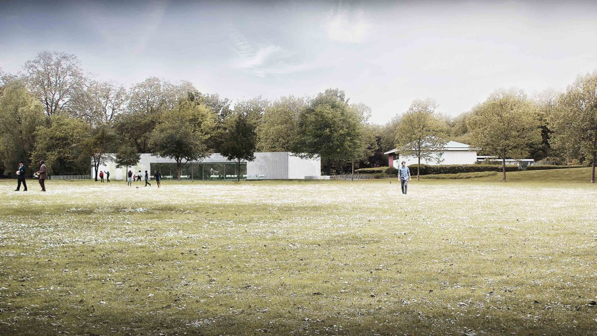 Bell Phillips Architects secure planning consent for Southwark Park Pavilion